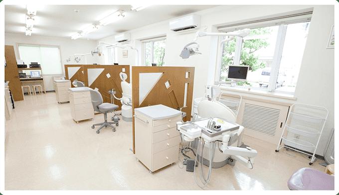 安心できる診療室